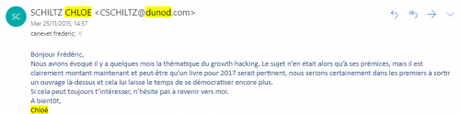 """Ca y est ! Mon livre """"Le Growth Hacking"""" est enfin disponible ! – Les coulisses de la publication d'un livre !"""