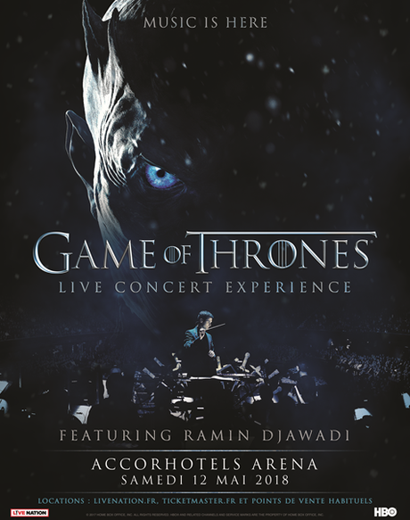 Vivez l'expérience Game of Thrones à l'Accorhotels Arena Paris