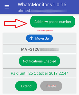 Surveiller l'activité d'un contact WhatsApp