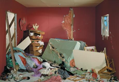 jeff wall, destroyed room, photography