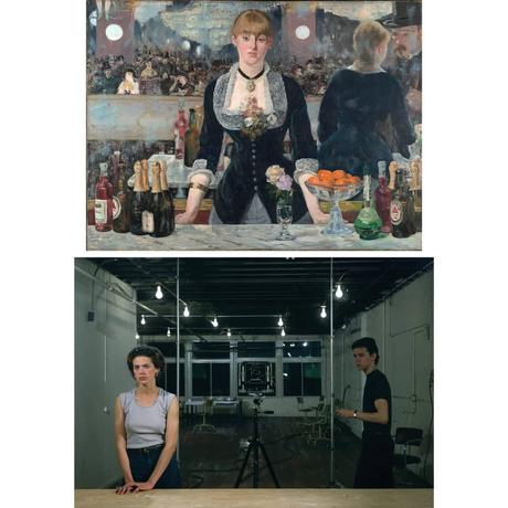 Jeff Wall, Edouard manet, bar aux folies bergeres