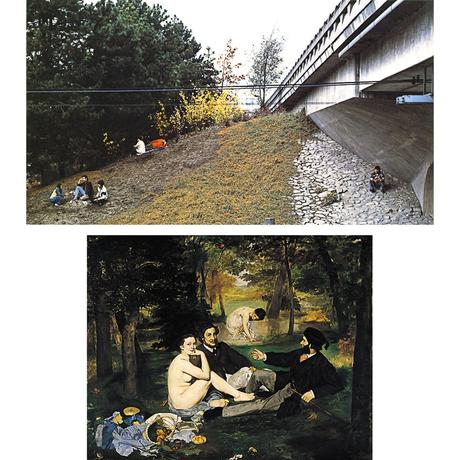 Jeff-wall,-the-storyteller,-photography,-edouard-manet,-le-dejeuner-sur-l'herbe