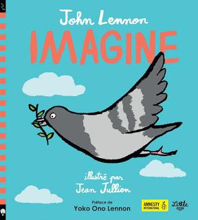 Imagine de John Lennon illustré par Jean Jullien