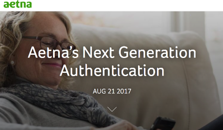 Aetna's Next Generation Authentication