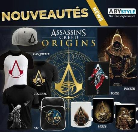 nouveautés ABYstyle assassin's creed origins
