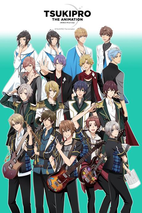 TsukiPro the Animation en simulcast VOSTFR chez Crunchyroll