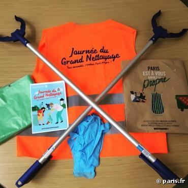 30 septembre : Journée du Grand Nettoyage à Paris
