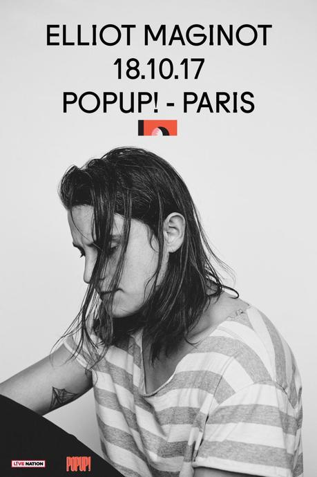 3×2 places à gagner pour le concert d'Elliot Maginot au Pop-Up du Label