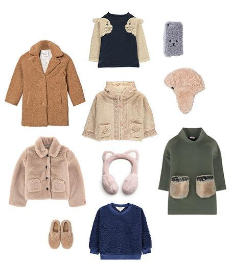 Tendance teddy bear - mode fille