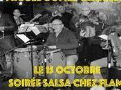 Concert soirée Salsa Miguel Gomez Orquesta chez Flams (Paris 1er) Dimanche octobre 2017