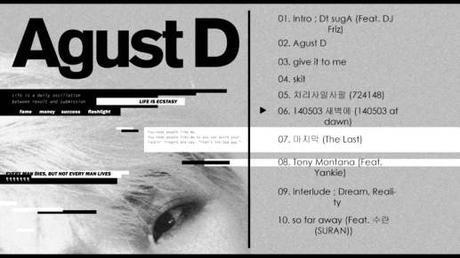« Agust D », le rap version Suga (BTS)