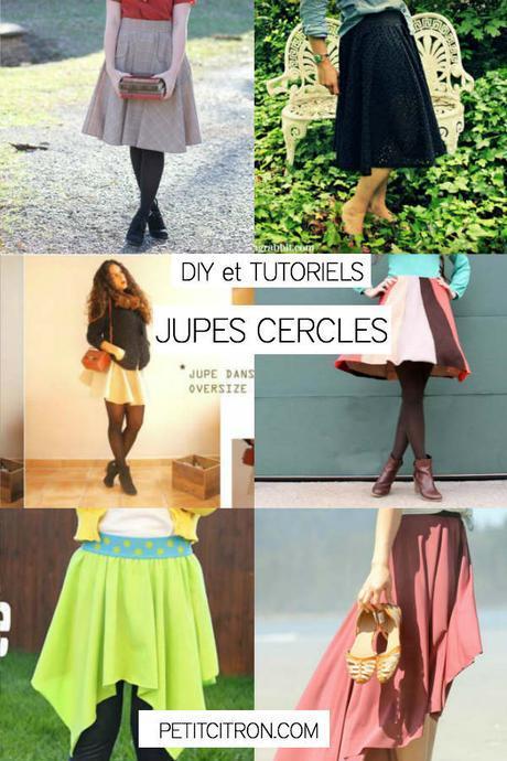 8 DIY pour confectionner une jolie jupe cercle