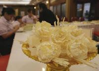 Samut Songkhram 9 Marigold géants pour SM le Roi Bhumibol Adulyadej (vidéo)