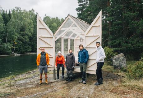 Testez une cabane suédoise en verre pour déstresser | À Découvrir