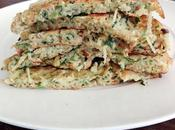 Galettes pois chiche courgettes