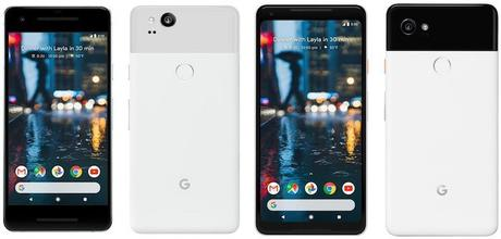 Pixel 2 Pixel 2 XL Officiel - Google dévoile les Pixel 2 & Pixel 2 XL, concurrents des iPhone 8 & 8 Plus