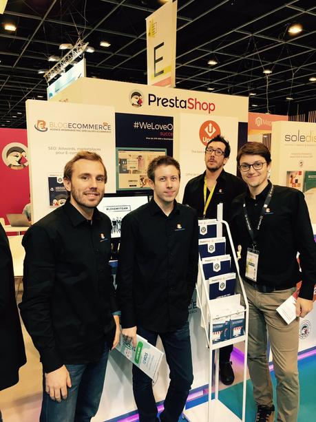 Le Stand Blog Ecommerce sur le Village Prestashop