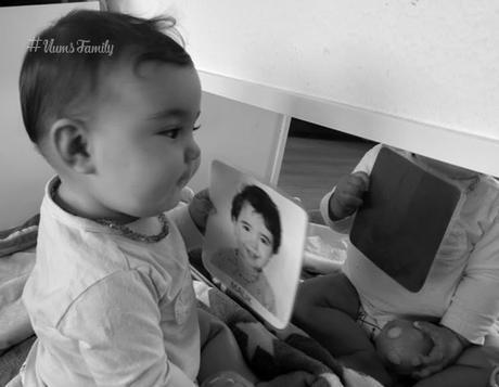 Les Cartes des visages familiers { Montessori }
