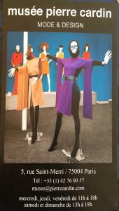 Musée PIERRE CARDIN  « Mode et Design »