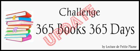 Update du Challenge : 365 Books 365 Days (2)