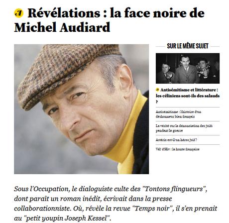 …Où Michel Audiard trempait sa plume dans la #PesteBrune #antisemitisme