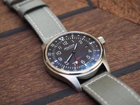 Découverte de la montre Alpina Startimer Pilot GMT