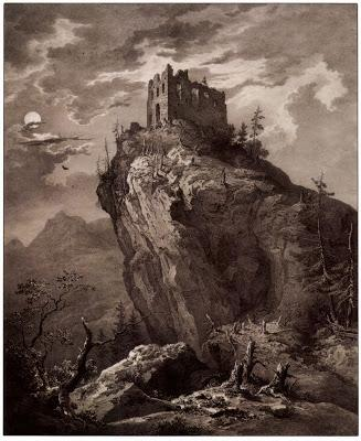 Elégies royales. Ruines d'un château. Un poème de Dauphin Meunier.