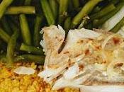 Lieu, crème paprika papillote, pour assiette tous jours