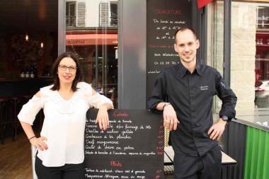 Le-chef-Benjamin-Arnaboldi-Nathalie-Camberlin-©-GourmetsCo