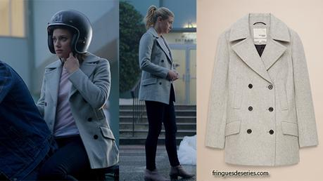 RIVERDALE : Grey coat for Betty in s2ep01