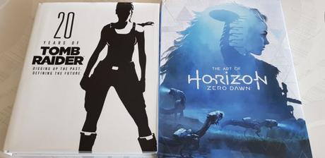 Tout l'univers de Tomb Raider & L'art de Horizon Zero Dawn enfin en français