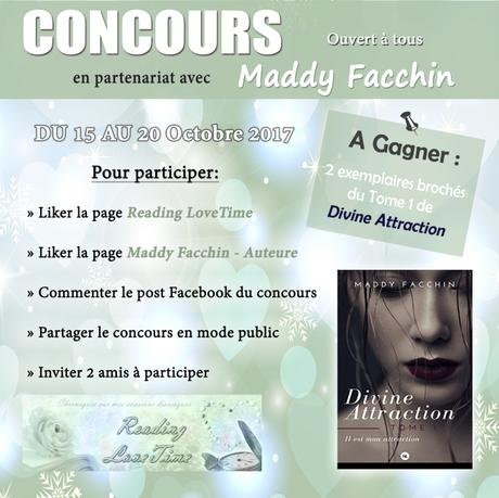 🍀 CONCOURS en partenariat avec Maddy Facchin 🍀