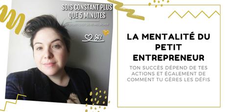 La mentalité du petit entrepreneur