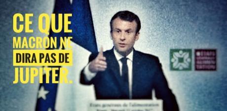 545ème semaine politique: ce que Macron ne dira pas de Jupiter (sur TF1)