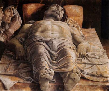 Mantegna, christ, lamentations, painting