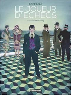 BD: Le Joueur d'échecs, coup de maître de David Sala