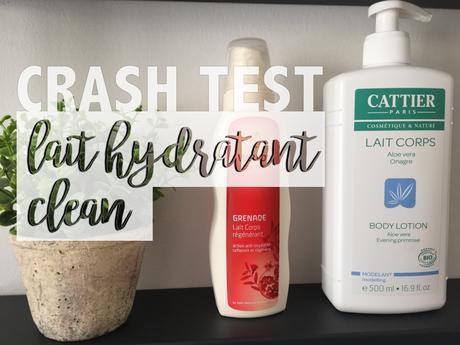 Nouveautés «clean» dans ma salle de bain : les laits hydratants