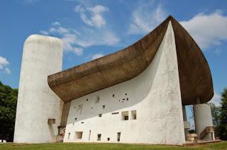 Le Corbusier, chapelle Ronchamp, 1950