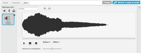 Scratch et la musique : enregistrement et gestion des sons