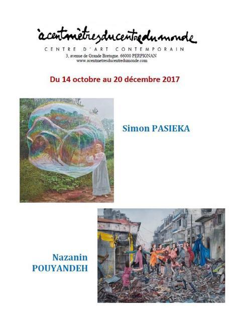 Exposition Simon PASIEKA et Nazanin POUYANDEH