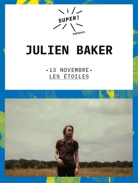 1×2 places à gagner pour le concert de Julien Baker aux Étoiles