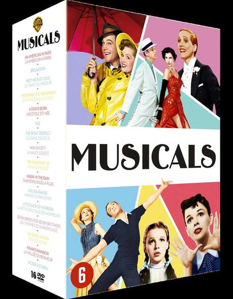 DVD - Les Must Have des comédies musicales ! en Coffret DVD idée Cadeau de Noël