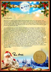 Bientôt Noël: pensez à offrir une lettre personnalisée du Père Noël à votre enfant
