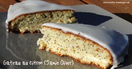 Gateau au citron pavot de Jamie Oliver