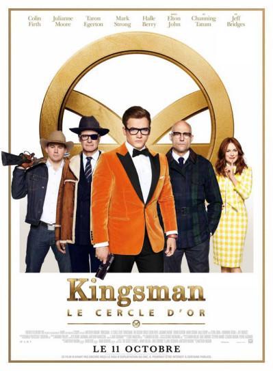 J'ai vu Kingsman : Le cercle d'or