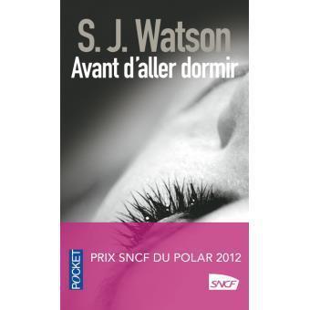 Avant d'aller dormir de S.J. Watson