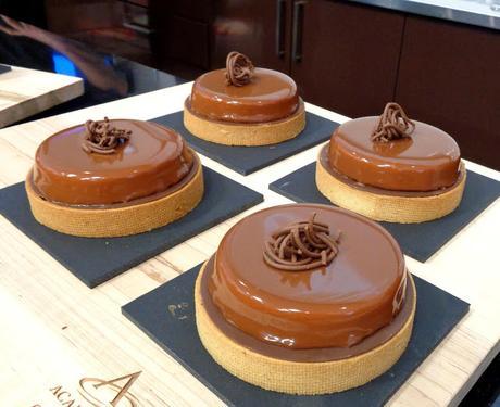 Démo de Luis Robledo à la Chocolate Academy