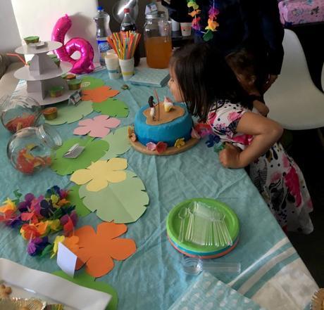 Les 6 ans de Liloute : sa fête Vaiana !