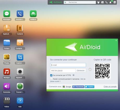 airdroid - AirDroid : transférer facilement des fichiers sans fil entre iOS & Android