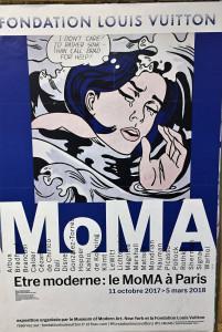 Fondation LOUIS VUITTON   M O M A            Etre moderne: le MoMa à PARIS jusqu'au 5 Mars 2018